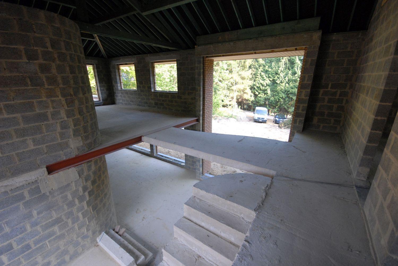 Habitation contemporaine à wavre architecte belge hugues verhaegen